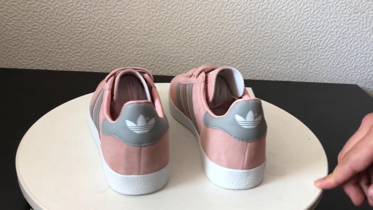 Adidas Gazelle Suede Pink Grey Woman