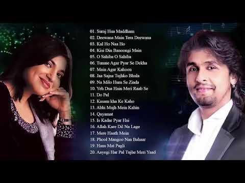 alka-yagnik-and-sonu-nigam-best-heart-touching-hindi-songs---super-hit-couple-songs-/-audio-jukebox