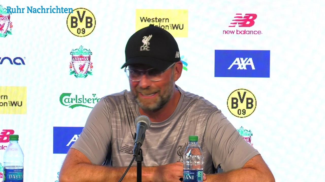 PK mit Jürgen Klopp nach dem 2:3 gegen Dortmund