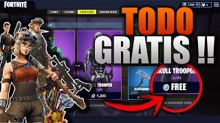 TENER TODO GRATIS (SKINS,PICOS,PARACAIDAS) en FORNITE BATTLE ROYALE  PS4 XBOX ONE Y PC ¡FUNCIONANDO!