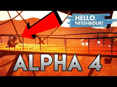 Hello Neighbor Alpha 4 INTRO! First LOOK thumbnail