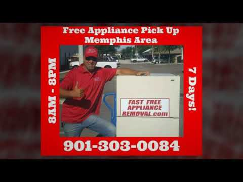 Free Appliance Removal Company Memphis TN | 901-303-0084 Pick Up/Haul Away/Recycle