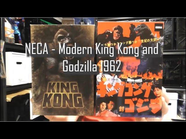 REVIEW - NECA's Modern King Kong and Godzilla (1962)