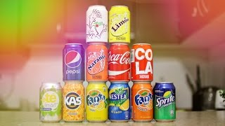 УГАДЫВАЕМ COCA-COLA,PEPSI,FANTA,7UP,SPRITE,NESTEA | SWEET HOME