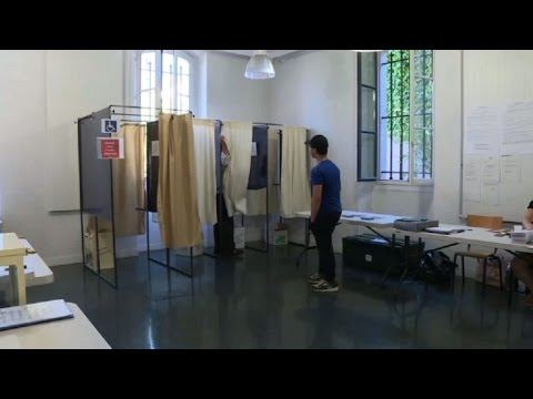 French poll turnout sharply down on 2012 with 3 hours left