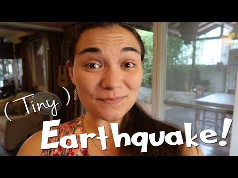 A Tiny Earthquake!! 🌏 ... and rambles!