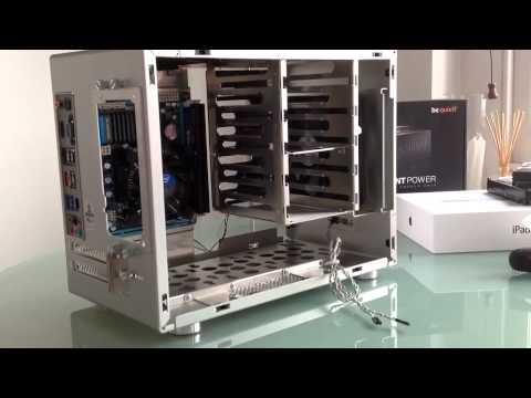 Lian Li pc-q25 Home server build i3 2100t