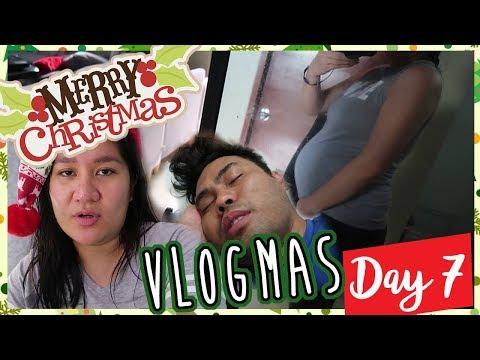 PINOY VLOGMAS DAY 7: BUNTIS UPDATE + Nagkasakit Si Justin #TheJKVlogs | Kris Lumagui