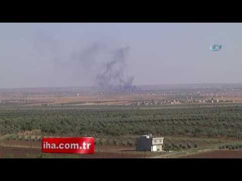 DAEŞ'in Bomba Yüklü Aracı Vuruldu ART Haber