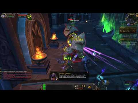 how to continue with the illidan stormrage quest
