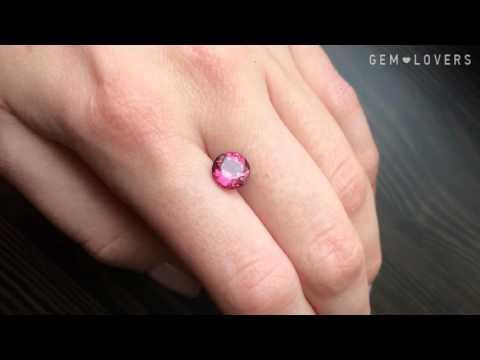 Ювелирная розовая шпинель 1,92 карата
