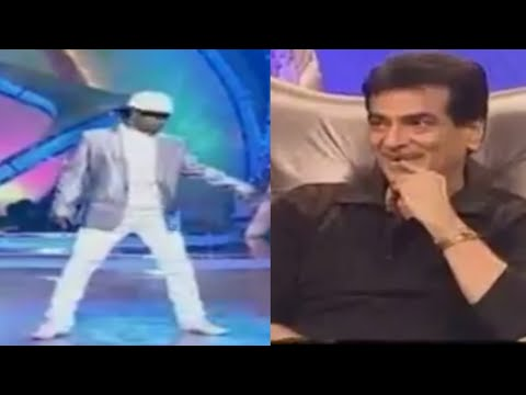 Dance India Dance Season 2 - Dharmesh Sir Imitating Jumping Jack Jeetendra Dance Style