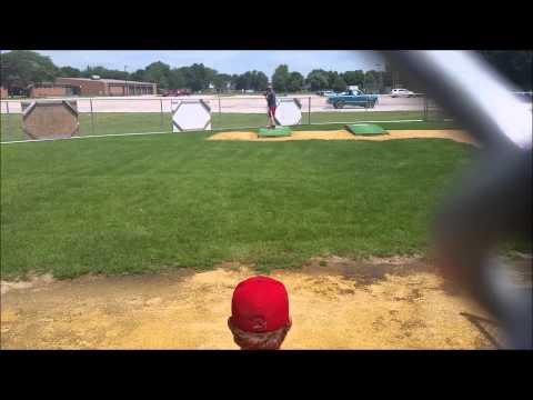 Tristan Walters Kankakee Community College Baseball Bullpen 7/20/15