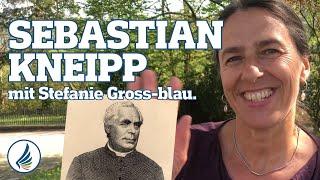 Sebastian Kneipp mit Stefanie - Ausbildung Wildkräuterschule