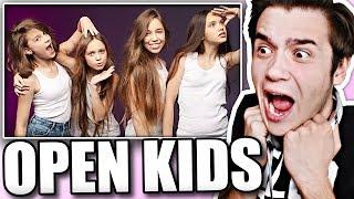 Реакция на Open Kids - Поколение Танцы