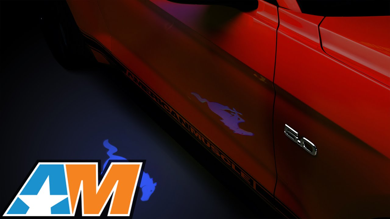 2017 Mustang Side View Mirror Puddle Lamp Lens Tint Review Install You