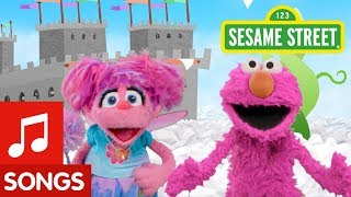 Sesame Street: Find Pink with Elmo and Abby! | I Spy Color Song #4