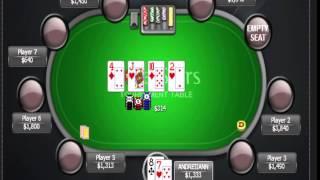 Раздача дня Школы Покера PokerStarter: Агрессивная игра против регуляра