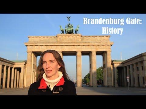 Brandenburg Gate: History