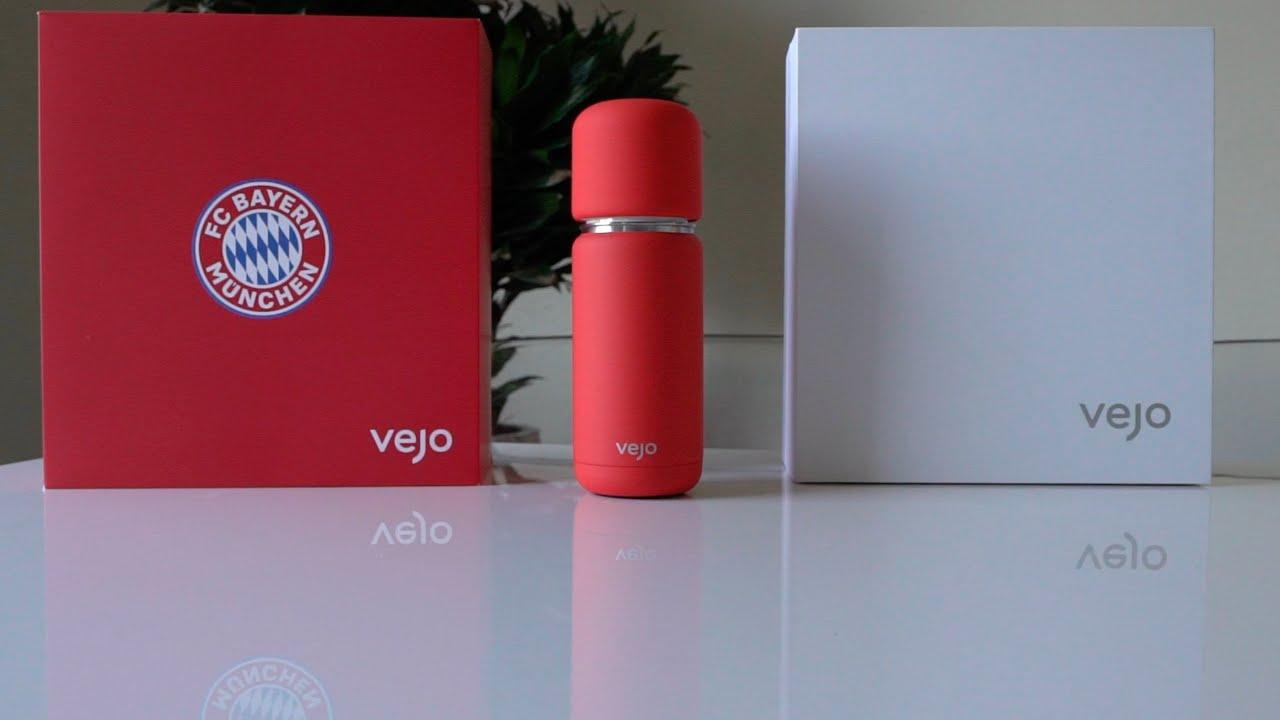 VEJO Blender Unboxing FC Bayern Munich Limited Edition Portable podbased smart blender