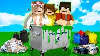 ÇÖPTEN SON ÇIKAN KAZANIR! 😱 Minecraft