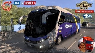 Euro Truck Simulator 2 (1.36)   Volvo G7 Marcopolo Paradiso 1200 FC v1.8 1.36x Travel to Corsica DLC Vive la France by SCS Software + DLC's & Mods  Support me please thanks Support me economically at the mail vanelli.isabella@gmail.com  Roadhunter Trailer