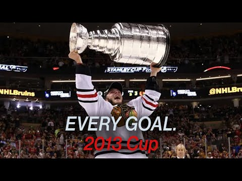 Every 2013 Playoff Goal by the Chicago Blackhawks