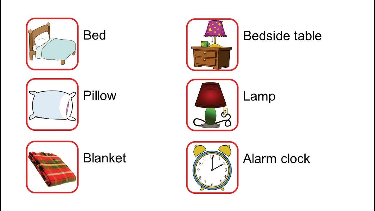 Well-known Curso de inglês para crianças - Aula 16 - My bedroom - YouTube BB22