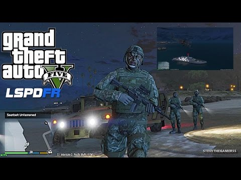 GTA 5 LSPDFR 0.3 - EPiSODE 3 - LET'S BE COPS - NAVY SEAL  (GTA 5 PC MODS) BODYGUARDS+ CARTEL YACHT