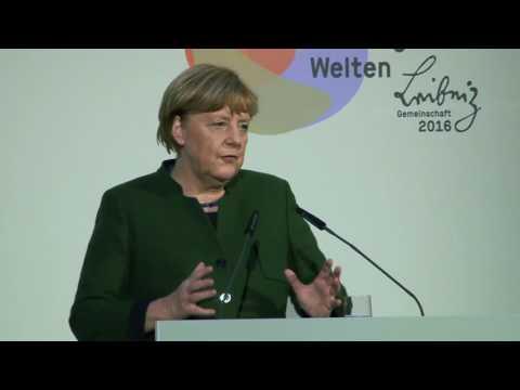 Jahrestagung der Leibniz-Gemeinschaft 2016 - Angela Merkel