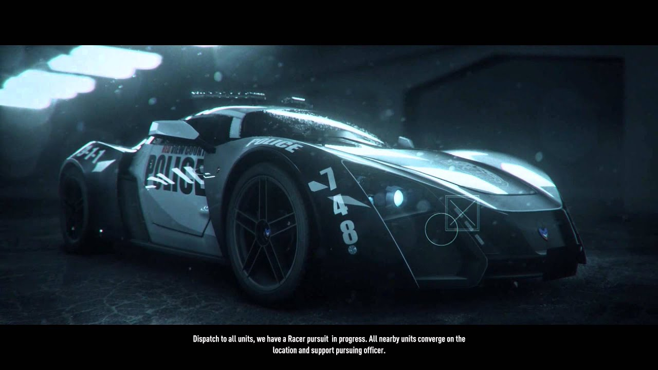 Police Cop Car Live Wallpaper Need For Speed Rivals New Car Unlocked Marussia B2 Cop