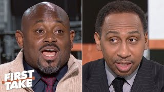 Rebranding the Knicks: Steve Stoute takes on Stephen A. and Max's questions | First Take