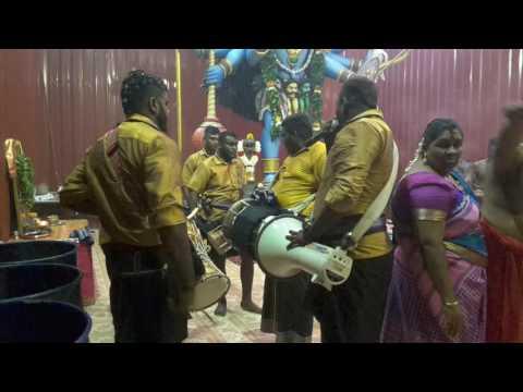 Vettai  karuppar ayya urumi melam at jb chinna karuppar temple ( maa kali )