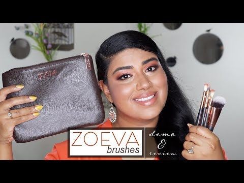 ZOEVA Brushes   Demo & Review
