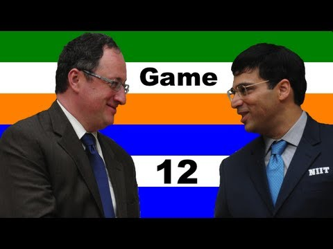 2012 FIDE World Chess Championship - Anand vs. Gelfand - Game 12