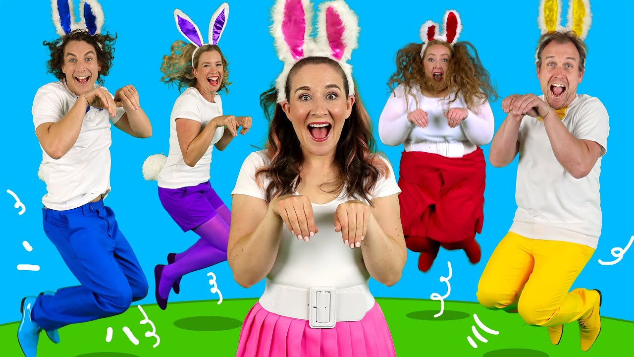 Bounce Like a Bunny! 🐰 Kids Songs & Nursery Rhymes