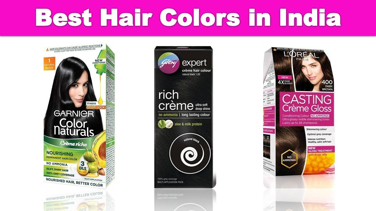 5 Best Hair Colours In India With Price 2019 Has Tv Youtube