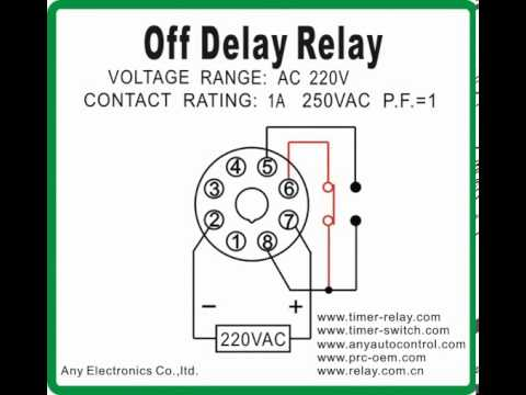 Dayton Time Delay Relay Wiring Diagram - All Diagram Schematics on