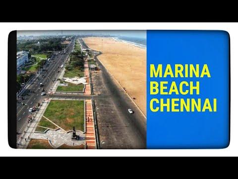 India's Miami Beach | Marina Beach |Chennai India | Marina Beach Road |