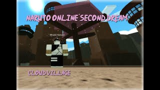 JOINING THE CLOUD VILLAGE - Naruto Online Second Dream - Roblox