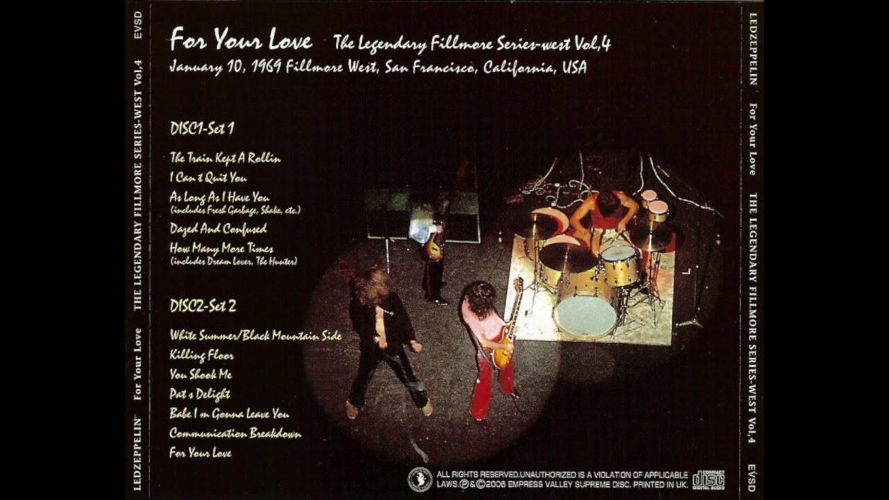 Led Zeppelin- Live in San Francisco, 1/10/1969