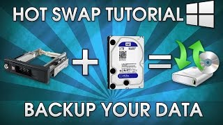 How To Make A Hot Swap Backup | Removable HDD Sata
