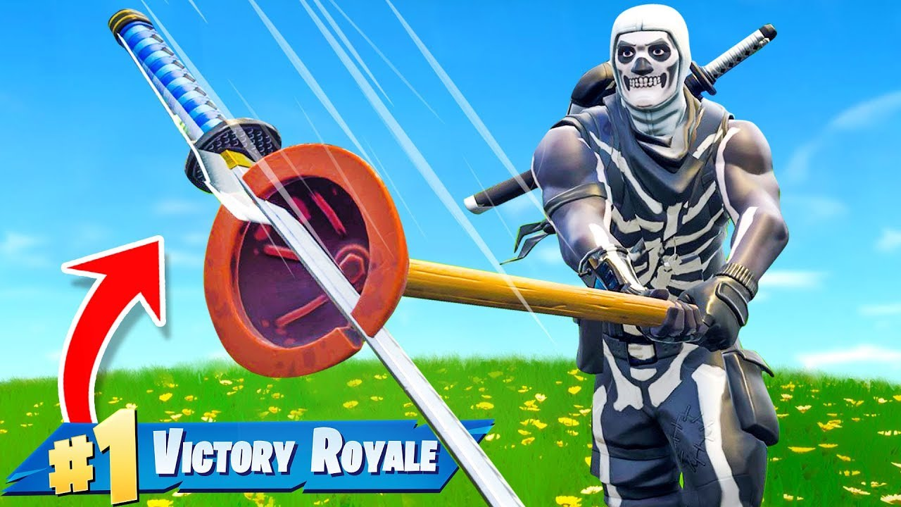 Can You Win With Only A Pickaxe In Fortnite Battle Royale Youtube