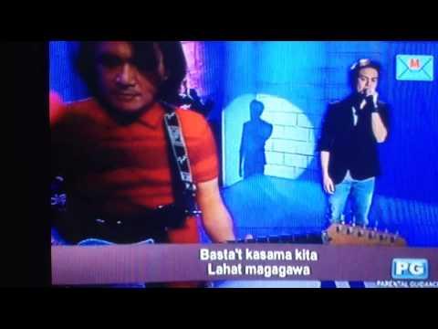Jake Vargas - Basta't Kasama Kita (Tonight With Arnold Clavio)