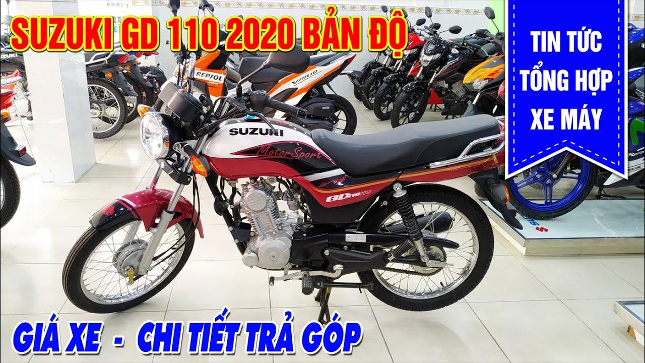 GD110 2020 Độ Màu   Cập Nhật Giá Xe Cuối Tháng 3 Mới Nhất   Trả Góp – Quà Tặng