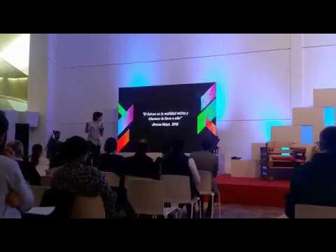 Presentación Glassear en Maker Faire Galicia 2018