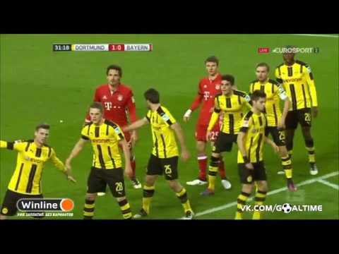 Borussia Dortmund vs Bayern Munich  1-0 all goals and highlights 19/11/2016