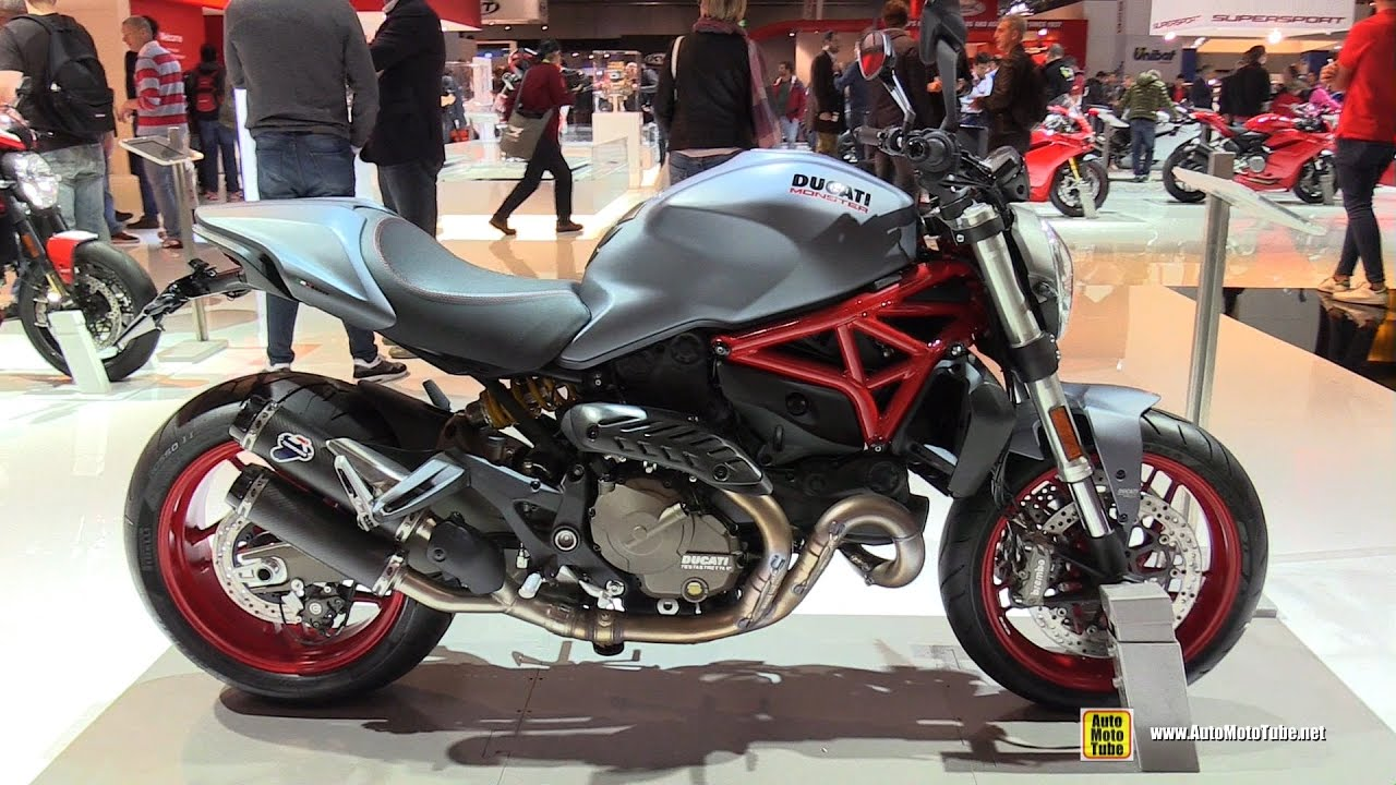 Ducati Monster 821 >> 2017 Ducati Monster 821 - Walkaround - 2016 EICMA Milan - YouTube