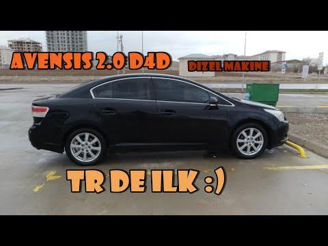 Toyota AVENSİS 2.0 D4D 2009 İnceleme Test