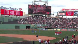 WE ARE BOSTON - Fenway Chant 4/20/2013